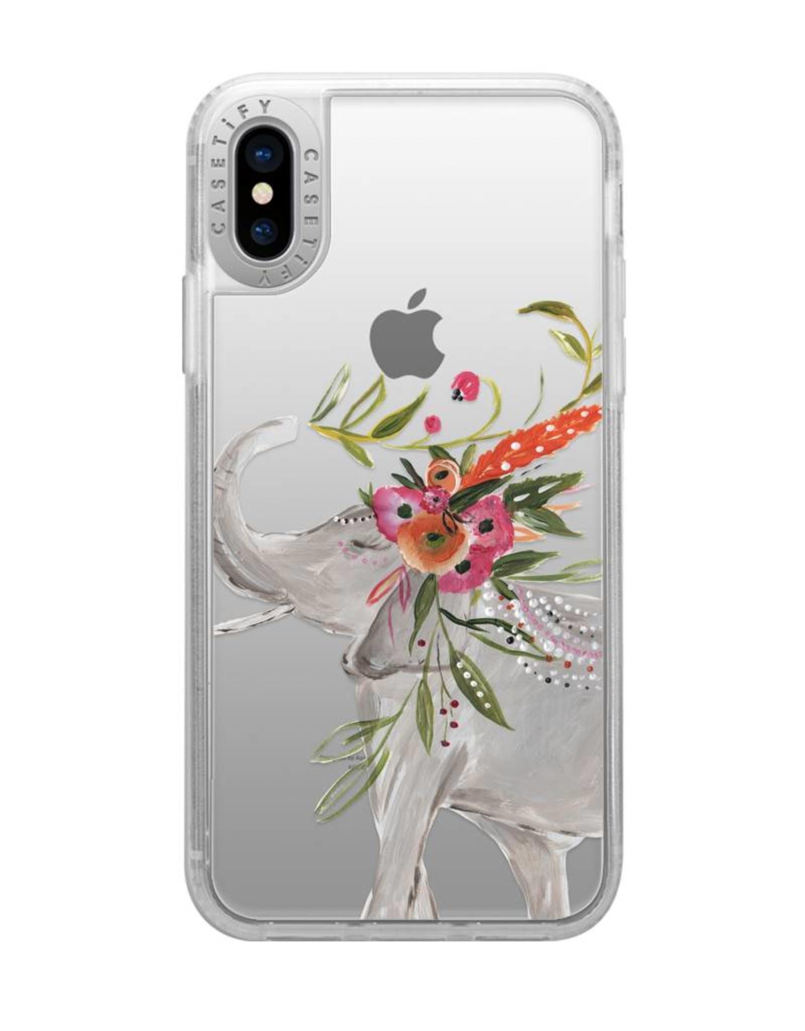 Casetify Casetify   iPhone Xs Max Grip Case Boho Elephant   120-0881
