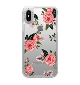 Casetify Casetify | iPhone Xs Max Grip Case Pink Floral Roses | 120-0882