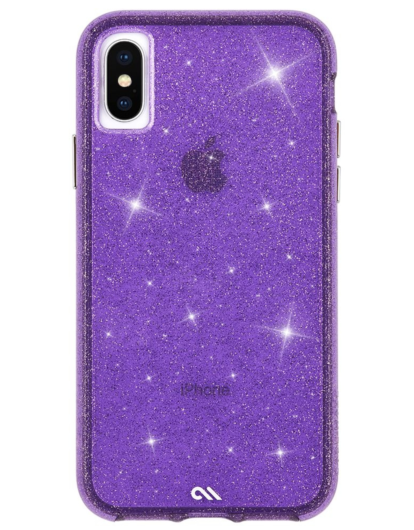 Case-Mate Case-mate   iPhone Xs Max Purple Sheer Crystal case   15-03691