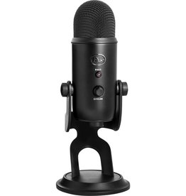 Blue Microphones Yeti Microphone - 20 Hz to 20 kHz - Wired - Bi-directional, Cardioid, Omni-directional - Desktop - USB 2070