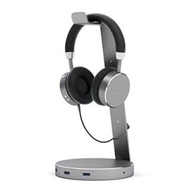Satechi Satechi | Headphone Stand w/ USB 3.0 ports - Space Gray | ST-AHSHU3M