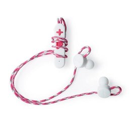 Boompods Boompods | Retrobuds Wireless Earphones - White/Pink | BP-WRBPIN