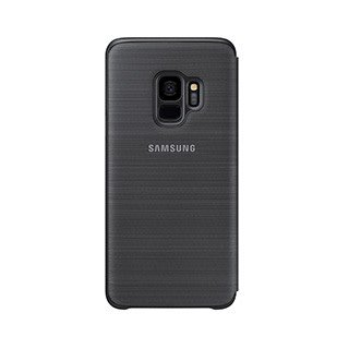 Samsung Samsung   Samsung Galaxy S9 LED View Standing Cover Case Black   120-0295