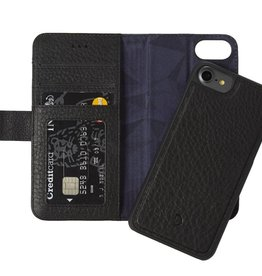 Decoded Decoded   iPhone 8/7/6/6s 2-in-1 Leather Wallet Black   DC-D6IPO7WC4BK