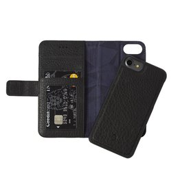 Decoded Decoded | iPhone 8/7/6/6s 2-in-1 Leather Wallet Black | DC-D6IPO7WC4BK