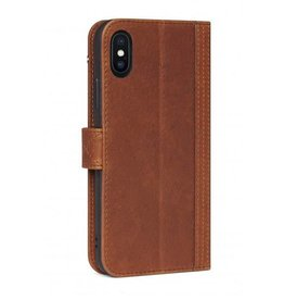 Decoded Decoded   iPhone X/Xs Leather Wallet Case Cinnamon Brown   DC-D7IPOXWC5CBN