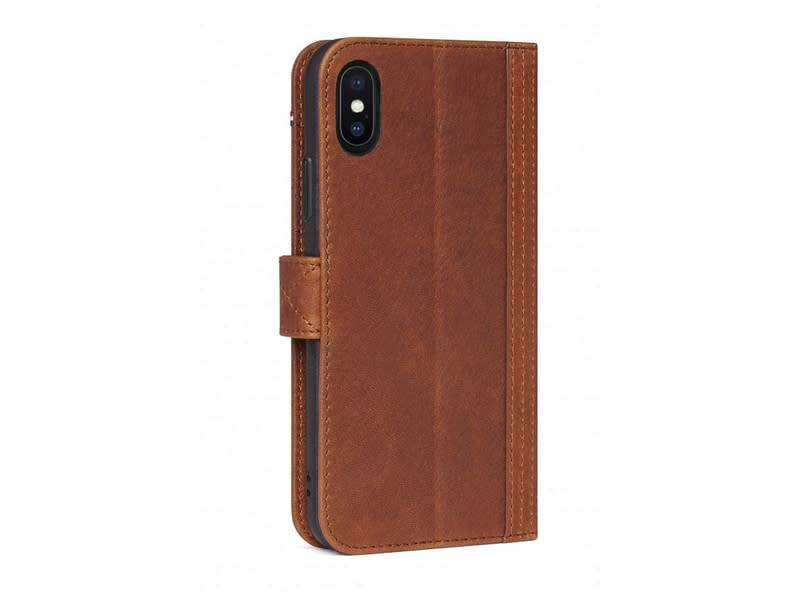 Decoded Decoded | iPhone X/Xs Leather Wallet Case Cinnamon Brown | DC-D7IPOXWC5CBN