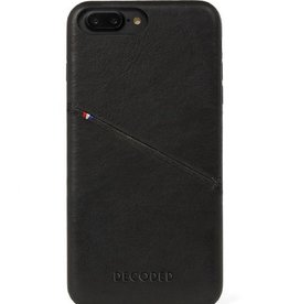 Decoded Decoded   iPhone 8/7/6/6s+ Leather Back   DC-D6IPO7PLBC3BK