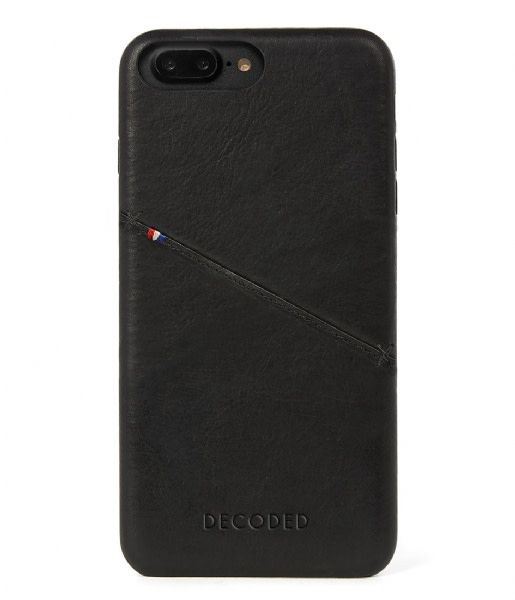 Decoded Decoded | iPhone 8/7/6/6s+ Leather Back | DC-D6IPO7PLBC3BK