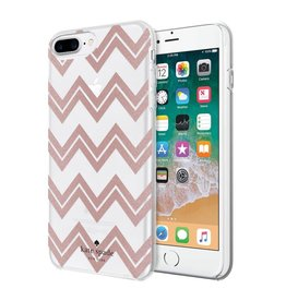 KSNY (Kate Spade New York) XXX Kate Spade New York | iPhone 8/7/6/6s+ Chevron RoseGold Glitter | KSIPH-069-CRGGC-FR