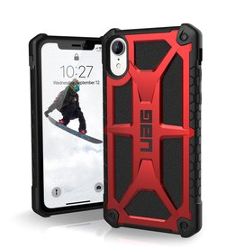 UAG UAG | iPhone Xr Monarch Rugged Case Crimson (Red) | 120-0899