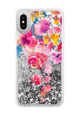 Casetify /// Casetify   iPhone X/Xs Glitter Case Pink Confetti Watercolor   120-1207