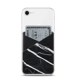 Casetify Casetify | Saffiano Leather Pocket Black Marble | 115-1794
