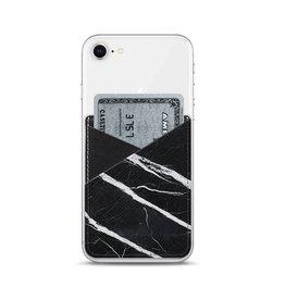 Casetify Casetify | Saffiano Leather Pocket Black Marble | 115-1794