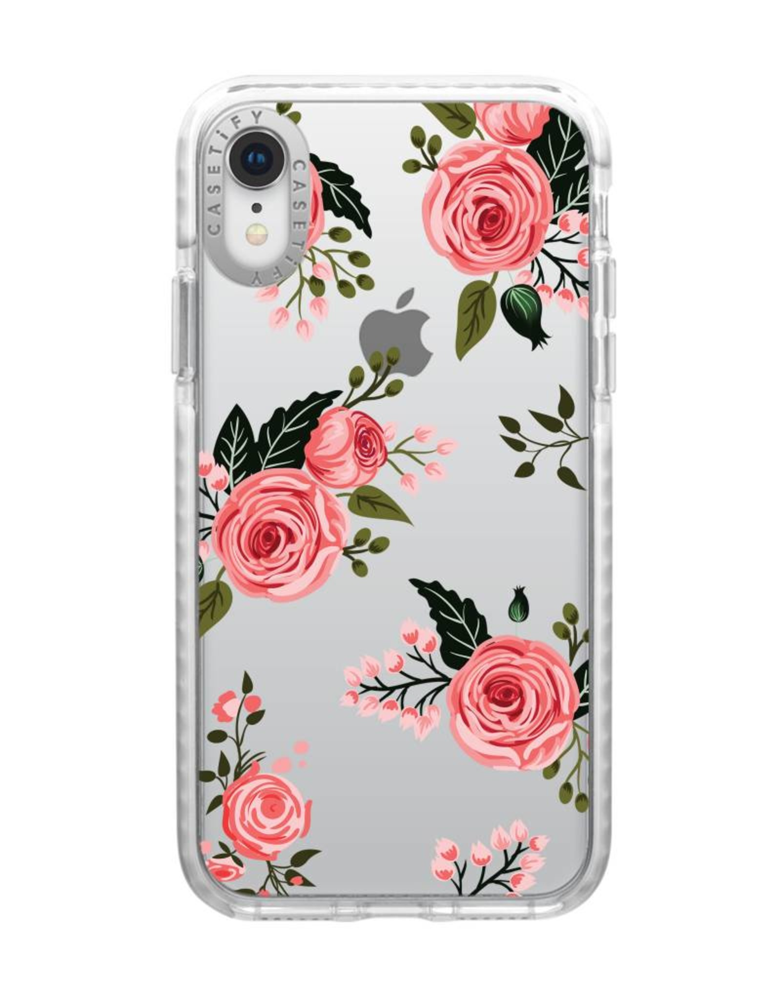 Casetify /// Casetify   Impact Case Pink Floral Roses for iPhone XR   120-0871