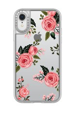 Casetify /// Casetify | iPhone XR Grip Case Pink Floral Roses | 120-0887