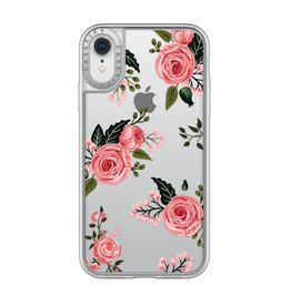 Casetify Casetify | iPhone XR Grip Case Pink Floral Roses | 120-0887