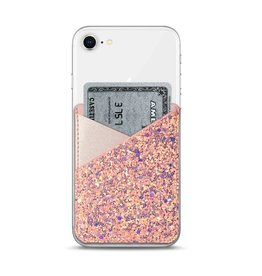 Casetify Casetify | Genuine Leather Pocket Pearl Pink Glitter | 115-1792