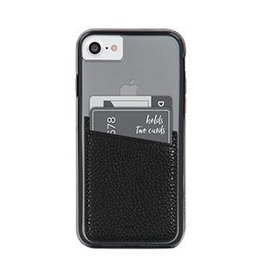 Case-Mate Case-mate | Universal Black Phone Card-holder Pocket | 15-01646