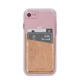 Case-Mate Case-mate | Universal Rose Gold Phone Card-holder Pocket | 15-01647
