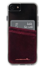 Case-Mate Case-Mate | Universal Garnet Phone Card-holder Pocket | CMIDPGAR