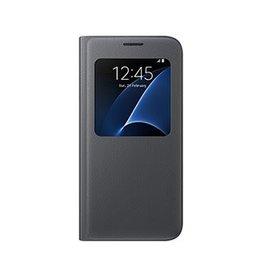 Samsung Samsung | Samsung Galaxy S7 OEM Black S View Cover | 112-8037