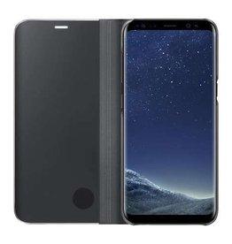 Samsung Samsung | Samsung Galaxy S8 OEM Black Clear Cover Stand | 15-01683