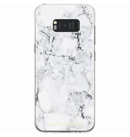 Rebecca Minkoff (RM) Rebecca Minkoff | Samsung Galaxy S8+ Sheer Protect Case Marble Print Clear/Black Foil | RMSA-003-MPBF