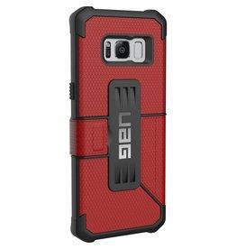 UAG UAG | Samsung Galaxy S8 Magma/Black Metropolis Series Folio case | 15-01586
