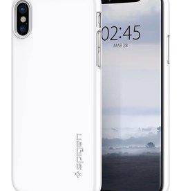 Spigen Spigen | iPhone X/Xs Thin Fit Case Jet White | SGP057CS22112