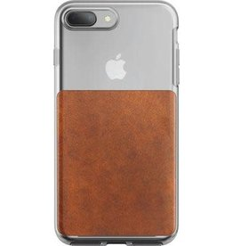 /// Nomad | iPhone X/Xs Clear Case Brown | 112-9846
