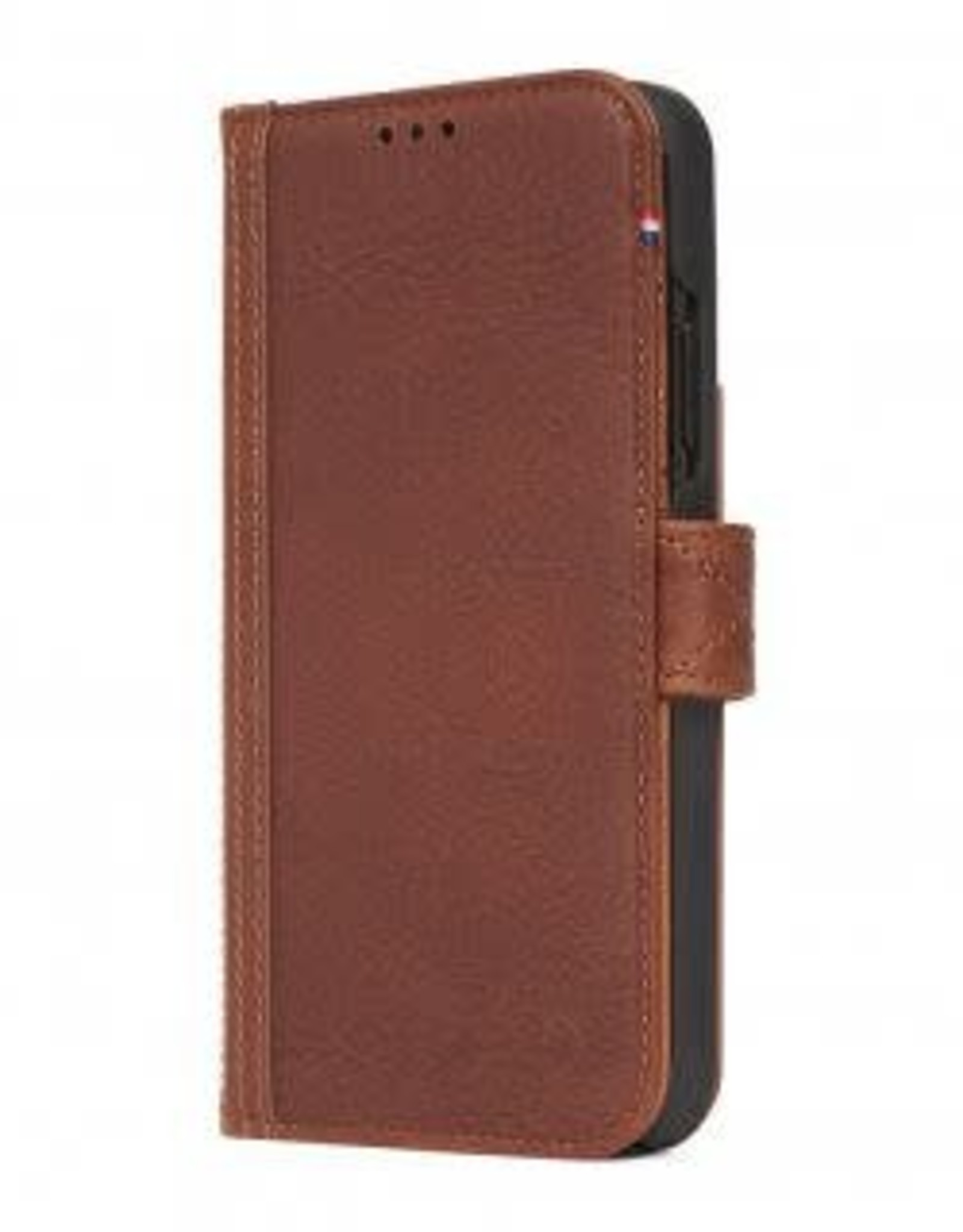 Decoded | iPhone Xs MAX Leather Wallet Removable Back Cover Cinnamon Brown | DC-D8IPO65DW1CBN