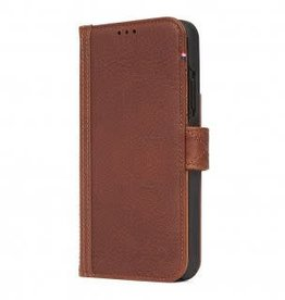 Decoded Decoded   iPhone Xs MAX Leather Wallet Removable Back Cover Cinnamon Brown   DC-D8IPO65DW1CBN