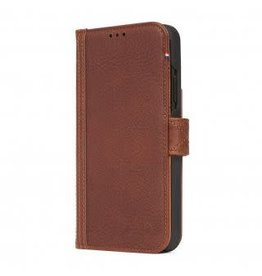 Decoded Decoded | iPhone Xs MAX Leather Wallet Removable Back Cover Cinnamon Brown | DC-D8IPO65DW1CBN