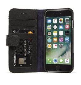Decoded Decoded | iPhone Xs MAX Leather Wallet Removable Back Cover | Black DC-D8IPO65DW1BK