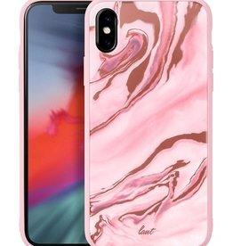 Laut LAUT | iPhone Xs MAX MINERAL GLASS Mineral Pink | LAUT_IP18-L_MG_MP
