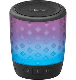 iHome iHome | Bluetooth Color Speaker with Siri and Google Assistant Black | 115-1724