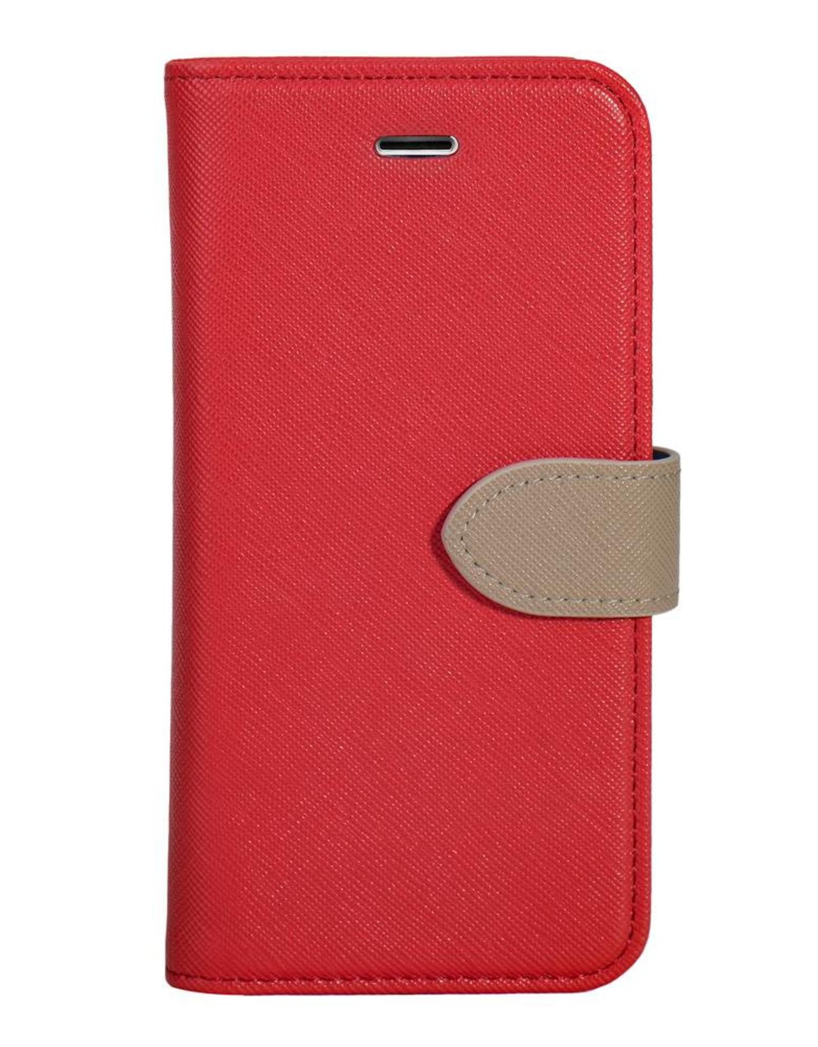 Blu Element Blu Element   iPhone XR 2 in 1 Folio Case Red/Butterum   120-0830