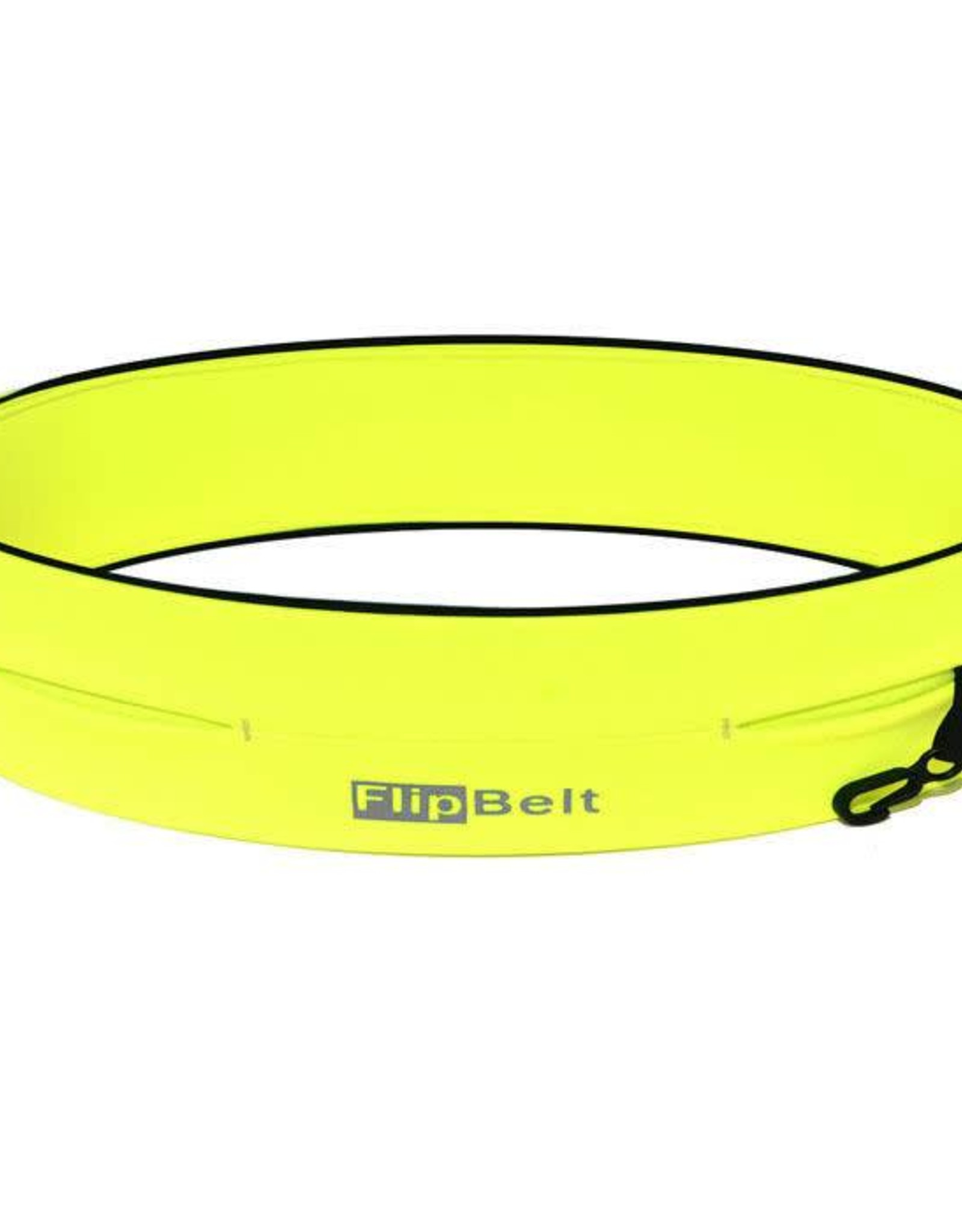 "FlipBelt   Classic Running Belt Neon Yellow Large 32""-35""   FB0114-NEOY-L"