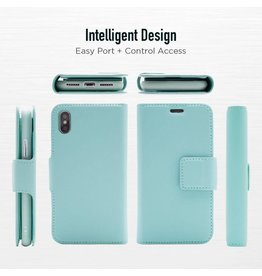 Caseco Sunset Blvd | iPhone 8/7/6/6s 2-in-1 RFID Blocking Folio Case Sky Blue | C3508-02