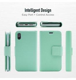 Caseco Sunset Blvd | iPhone X/Xs 2-in-1 RFID Blocking Folio Case Turquoise | C3510-06