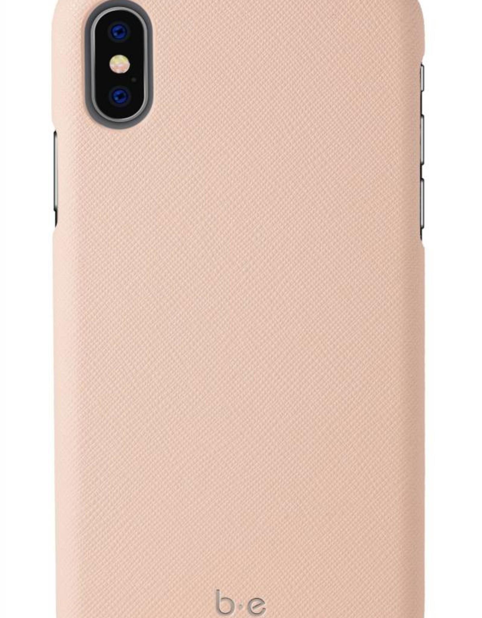 Blu Element Blu Element | iPhone Xs MAX Saffiano Case Pink Champagne | 120-1274