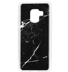 Blu Element Blu Element | Samsung Galaxy A8 (2018) Mist Fashion Case Black Marble | 120-0348