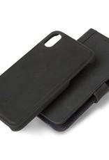 Decoded | iPhone XR Leather Case Detachable Wallet Black | DC-D8IPO61DW1BK