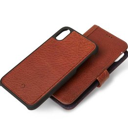SO Decoded   iPhone XR Leather Case Detachable Wallet Cinnamon Brown   DC-D8IPO61DW1CBN
