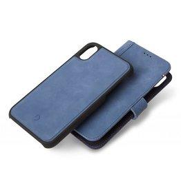 SO Decoded   iPhone XR Leather Case Detachable Wallet Light Blue   DC-D8IPO61DW1LB