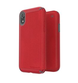 Speck Speck | iPhone XR Presidio Folio - Heathered Red/Grey | 1170627359