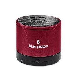 Logiix | Blue Piston BlueTooth Red Speaker | LGX-10614