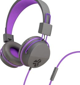 JLab Audio | JBuddies Studio Over Ear Folding Kids Headphones Purple/Gray (English Packaging Only) | 106-1341