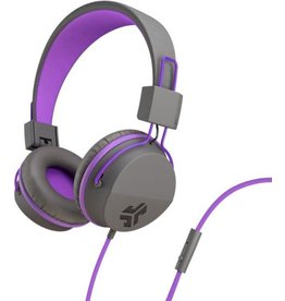 JLab Audio JLab | Audio - JBuddies Studio Over Ear Folding Kids Headphones Purple/Gray (English Packaging Only) | 106-1341